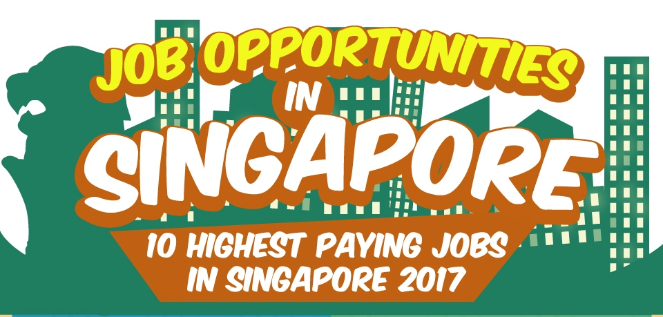 Job Opportunities in Singapore 2017 - Title Image